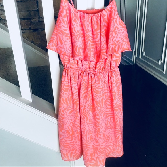 Lilly Pulitzer for Target Dresses & Skirts - Lilly Pulitzer for Target Giraffe Flounce Dress XS